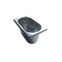 Bac inox 304 GN1/9-Profondeur 100 mm-0.8L
