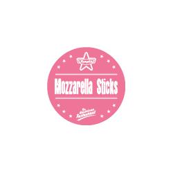 Etiquette identification plat MOZZARELLA STICKS avec boite distributrice de 500 étiquettes-Livraison à domicile