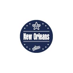 Etiquette identification plat NEW ORLEANS avec boite distributrice de 500 étiquettes-Livraison à domicile