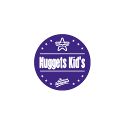 Etiquette identification plat NUGGETS KIDS avec boite distributrice de 500 étiquettes-Livraison à domicile