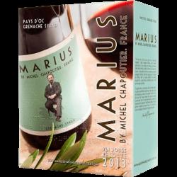 Bib Vin Rouge Marius Chapoutier 5 L