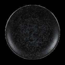 Assiettes grandes rondres noires Menu Shades diam 27 par 6