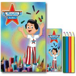Kit Coloriage avec stickers x300