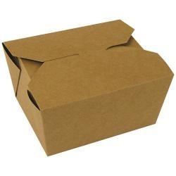 Barquette Carton brun x180
